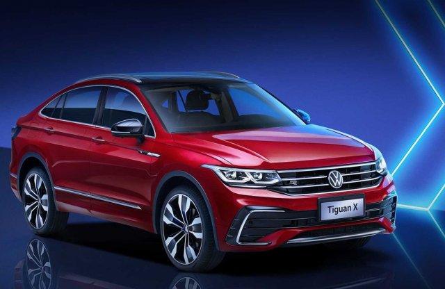 Már kupés farral is készül a Volkswagen Tiguan