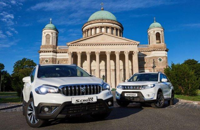 306 lóerős SUV-t hoz ősszel a piacvezető címet célzó Suzuki