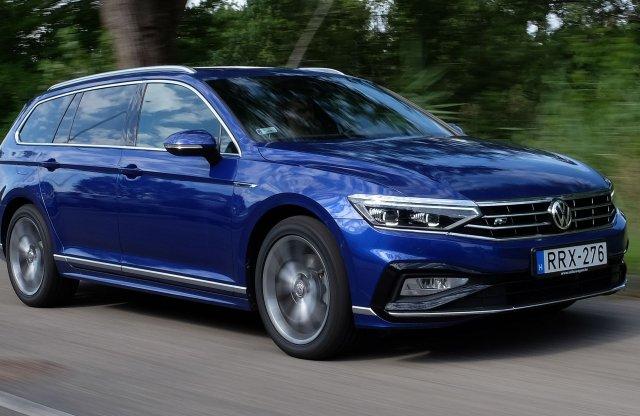 Torkos gázolajos – VW Passat Variant 2.0 TDI DSG R-Line teszt