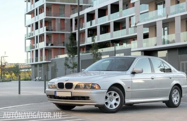 A tökéletesség igényével – BMW 525i E39