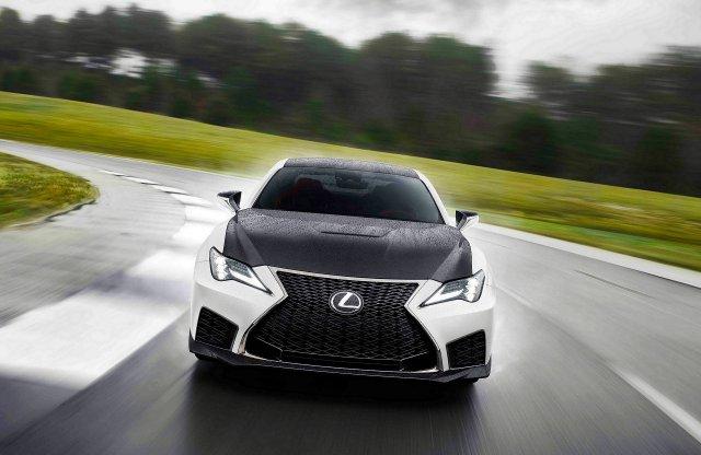 Rendkívül ritka lesz a limitált szériás Lexus RC F Fuji