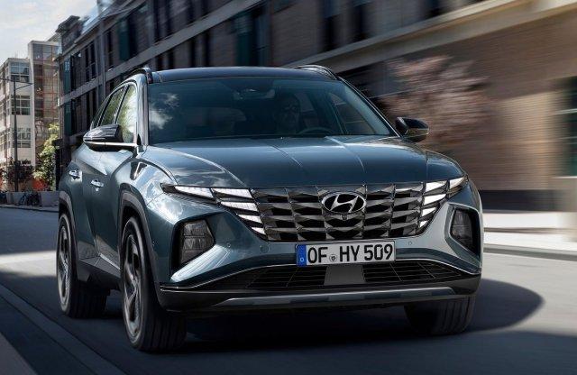 Merész és izmos lett az új Hyundai Tucson