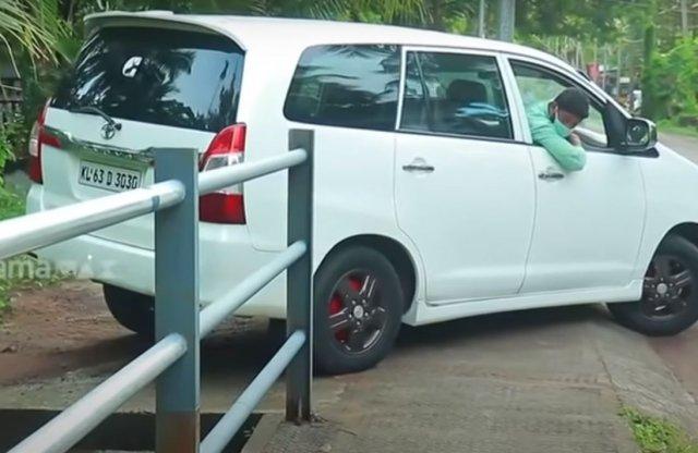 Naponta megcsillogtatja tehetségét a parkolás királya