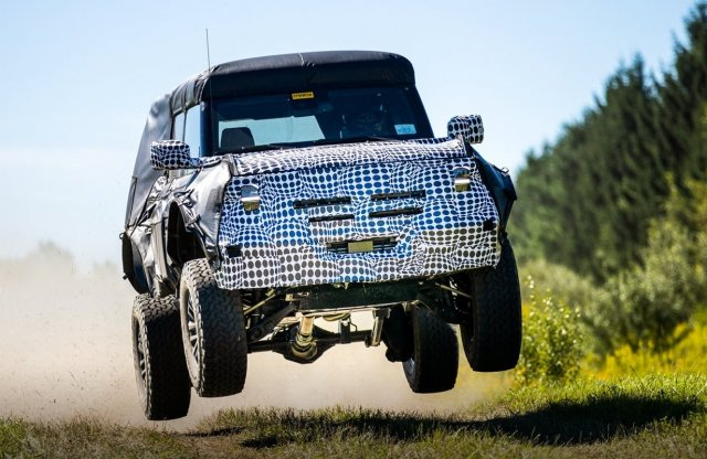 Ez vajon a Ford Bronco Raptor?