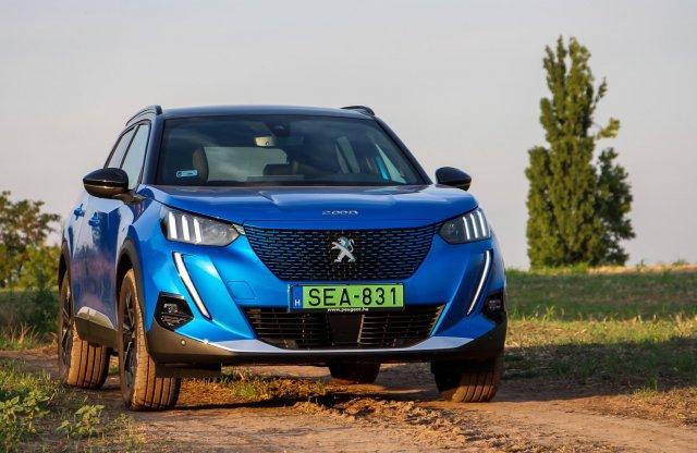 Oroszlánkirály? Peugeot e-2008 GT Line teszt