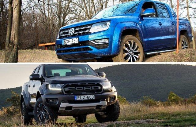 Előtérbe került az új Ranger a közös VW pickup fejlesztése alatt