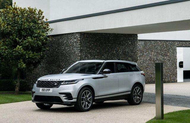 A Velarral már minden Range Roverből elérhető plug-in hibrid