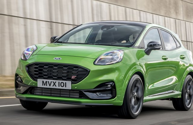 Európa legélvezetesebb kis SUV-jának ígéri a Ford az ST Pumát