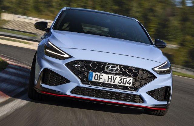 Gyorsabb lett a friss Hyundai i30 N