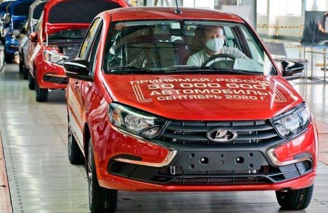 30 millió legyártott autónál tart a Lada, kukkants be a gyárba!