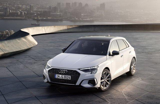 Megújul a metánfaló Audi A3 is