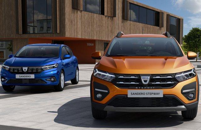 Most már a formatervével is hódít a Dacia Sandero és a Logan