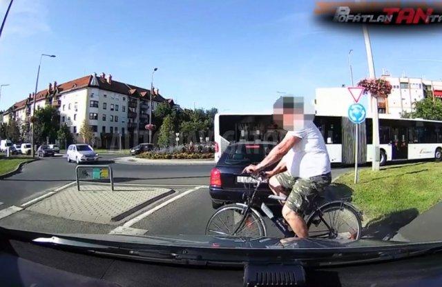Kerékpárost és öv nélküli sofőröket is elkaptak a Pofátlan(TAN)ítók