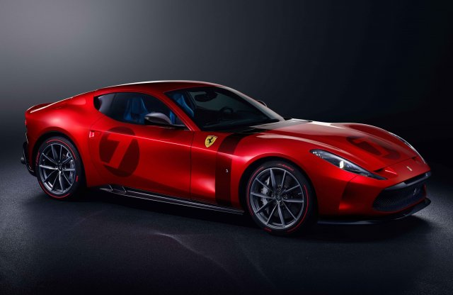Sci-fi inspirálta a legújabb egyedi Ferrarit