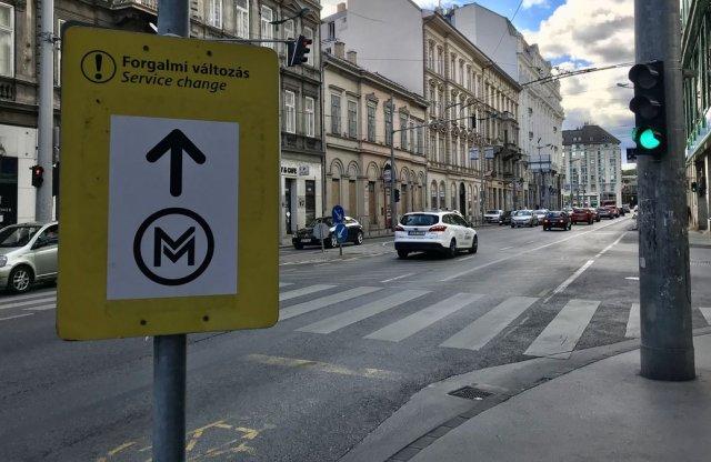 Jönnek a belvárosi forgalomkorlátozások a metrófelújítás miatt