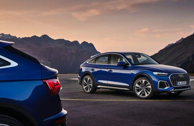 Divatos fazonnal bővült az Audi Q5, itt a Sportback