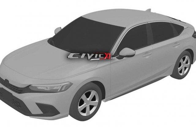 Kiszivárgott a Honda Civic következő generációjának formája