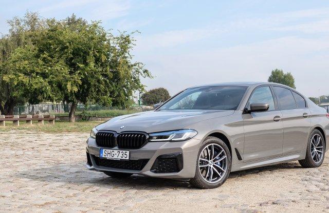 Villamosítással, új dizájnnal próbáltuk ki a friss 5-ös BMW-t