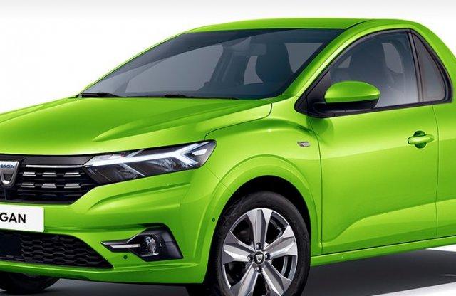 Itt a platós és a kombi Dacia Logan is – virtuálisan