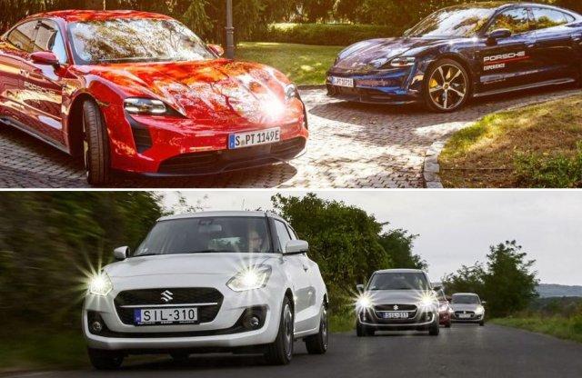 Villany Porsche és hibrid Suzuki a heti podcastban