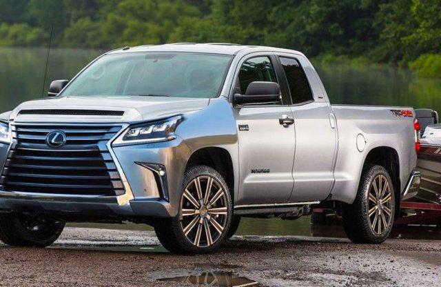 Így lesz közös pickupja a Fordnak és a Lexusnak!