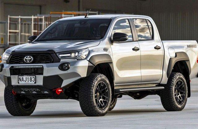 Toyota Hilux Mako – neve ellenére nem az Alföldön készült