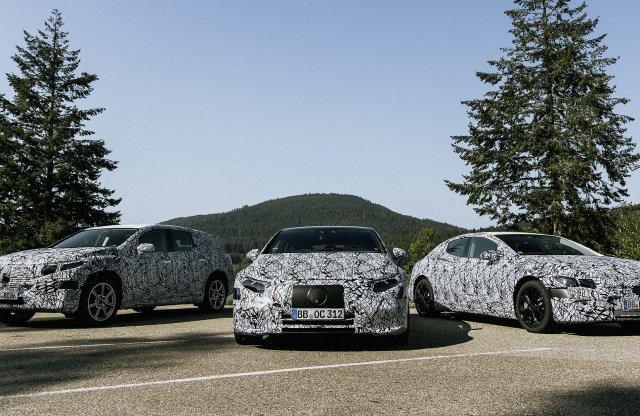 Jön a villany Mercedes invázió