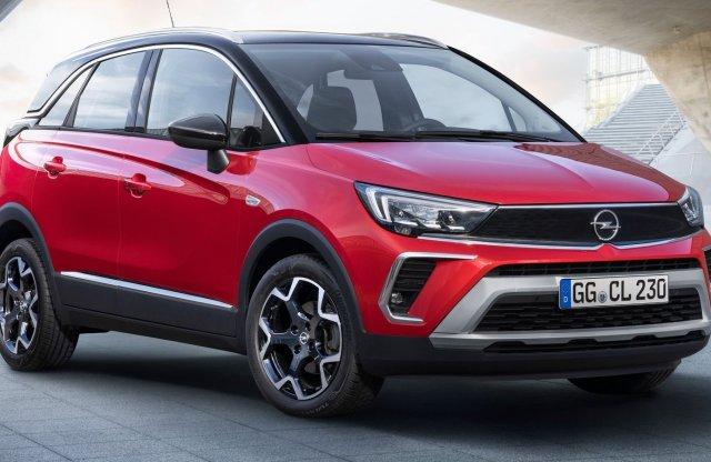 Az Opel új stílusával jön a friss Crossland