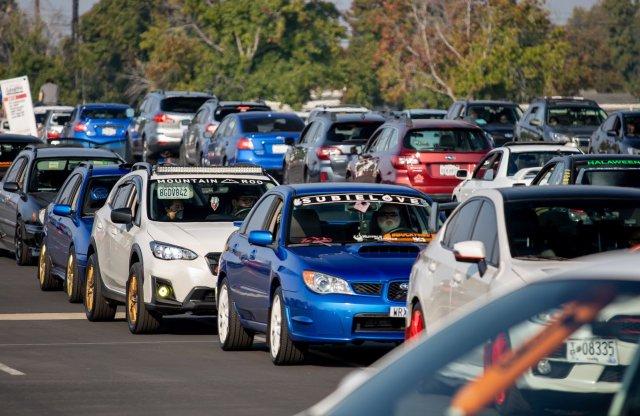 Guinness világrekordot döntött a Subaru