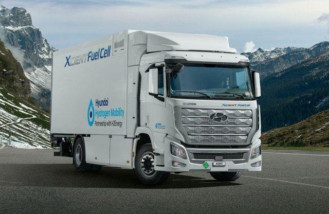 A Hyundaié az első üzemanyagcellás teherautó