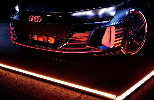 Ilyen hangja lesz az Audi e-tron GT-nek