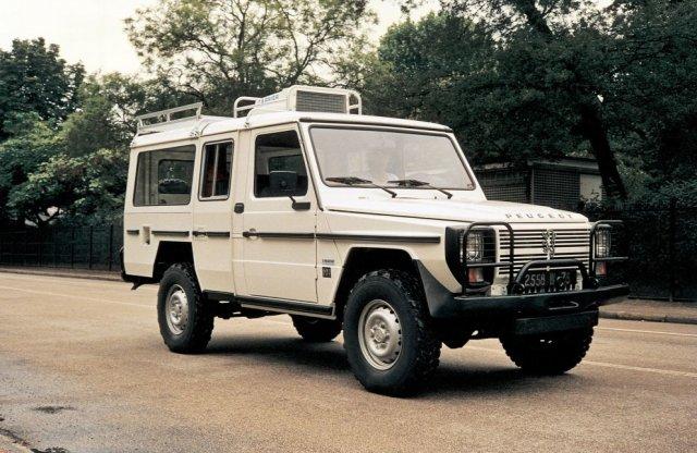 Amikor a Peugeot gyártotta a Mercedes G-osztályt