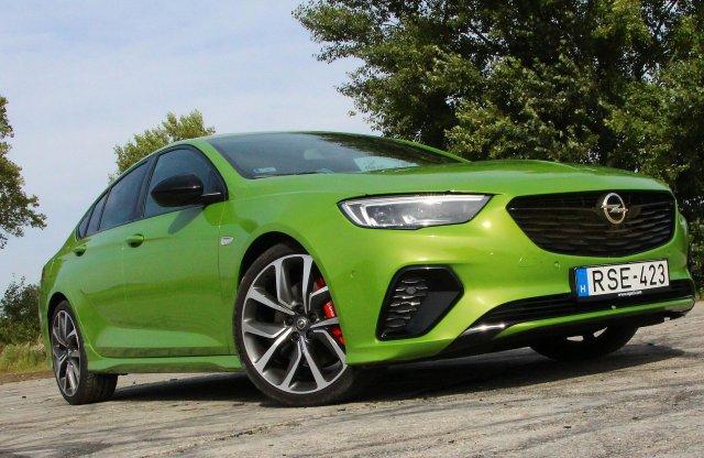 Üléskirály – Opel Insignia GSi 2.0 BiTurbo D teszt