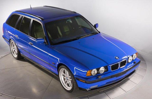 Kettő ilyen BMW M5 készült, az egyik most eladó