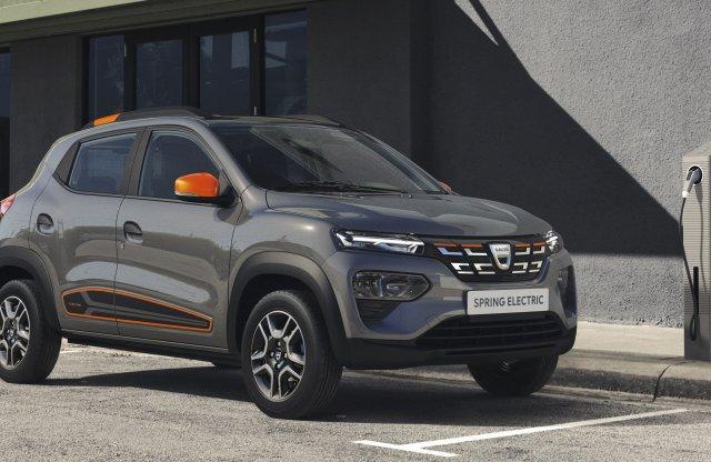 Még a 4 millió forint alá is bemegy az első 100 Dacia Spring ára