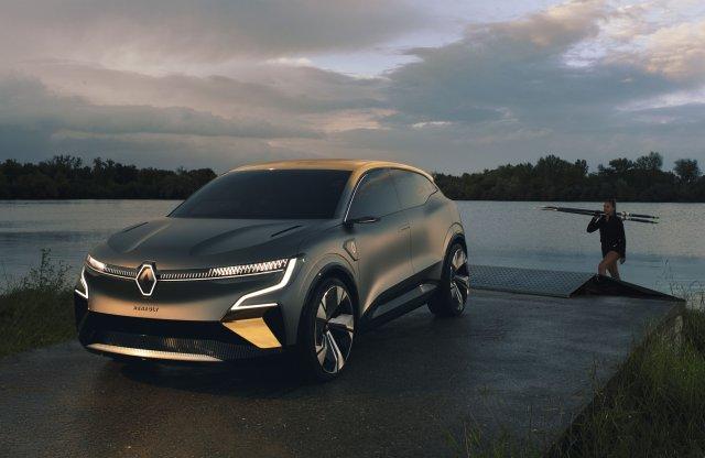 Az elektromos Renault Mégane jövőre érkezik, itt az ízelítő