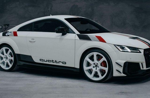Ebből az Audi TT-ből csak 40 darab készül!