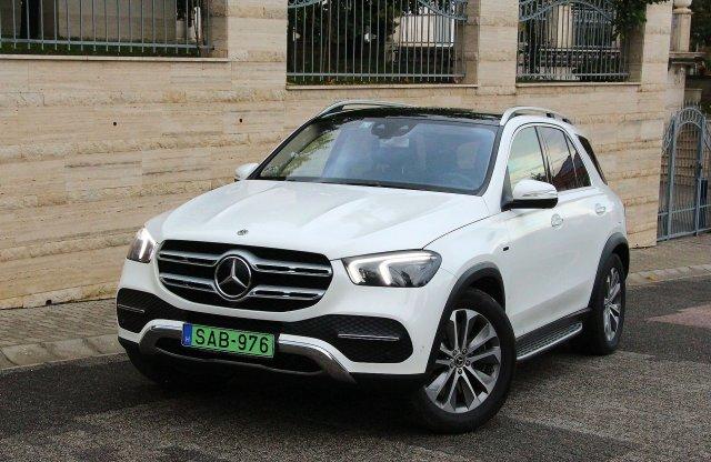 Csúcsra tör – Mercedes-Benz GLE 350 de 4MATIC EQ Power teszt