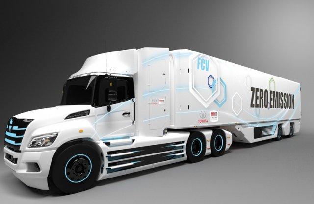 A Toyota elektromos teherautóval hódítaná meg Amerikát!