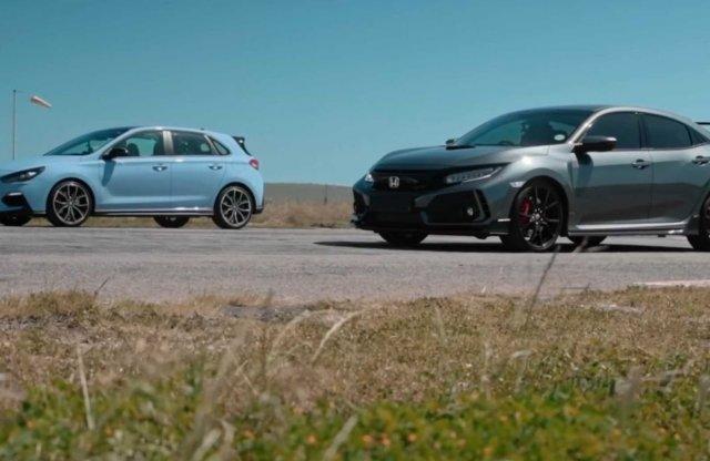 Melyik a gyorsabb? Hyundai i30 N vagy a Honda Civic Type R?