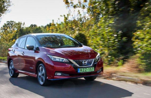 Nehéz ügy… Nissan Leaf e+ 62 kWh Tekna teszt