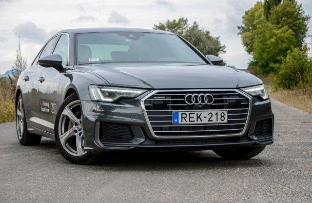 Négyes hatos – Audi A6 45 TFSI teszt