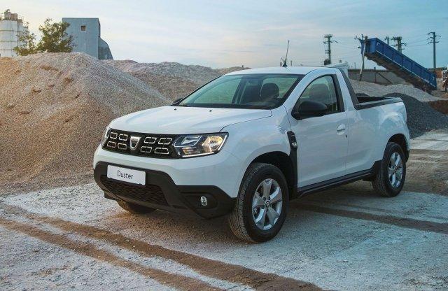 Már nem csak álom a platós Dacia Duster!