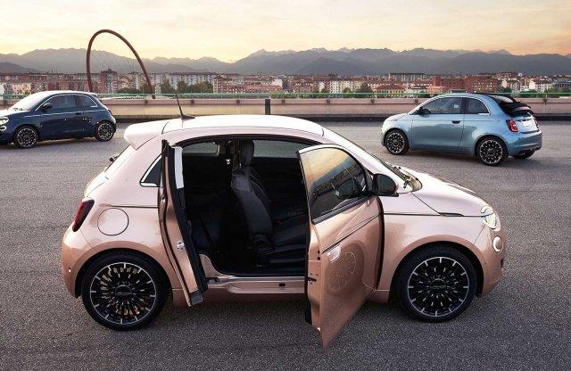 Kapott még egy ajtót a Fiat 500e