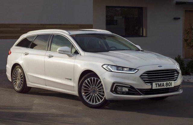 Minden benzinmotoros Ford Mondeo hibrid lesz Európában
