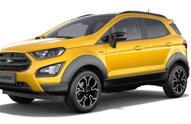 Kiszivárogtak a Ford EcoSport Active képei