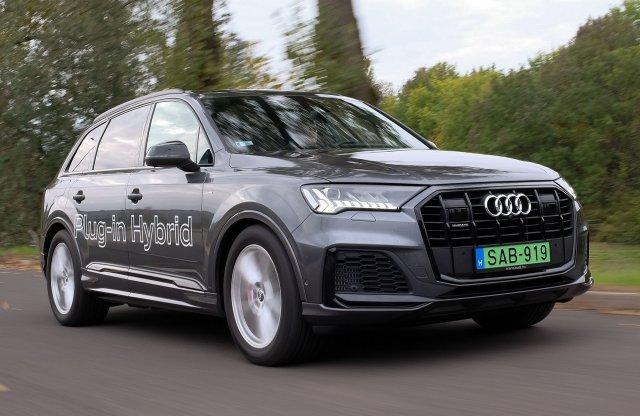 Nem enged a 48-ból! – Audi Q7 60 TFSI e quattro teszt