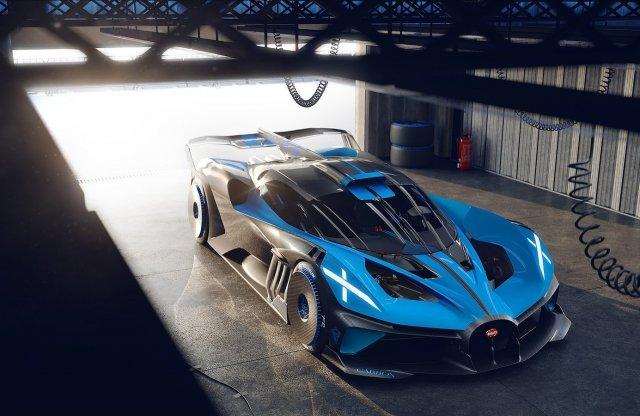 Eszeveszett tempóra képes a Bugatti négykerekű meteorja