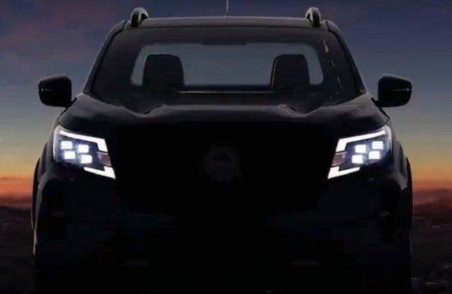Megvillantották az új Nissan Navara orrát