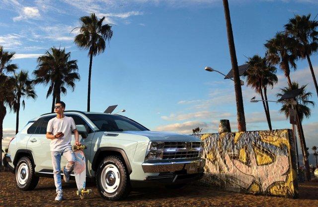 Nyolcvanas évekbeli amerikai terepjáró lett a Toyota RAV4-ből